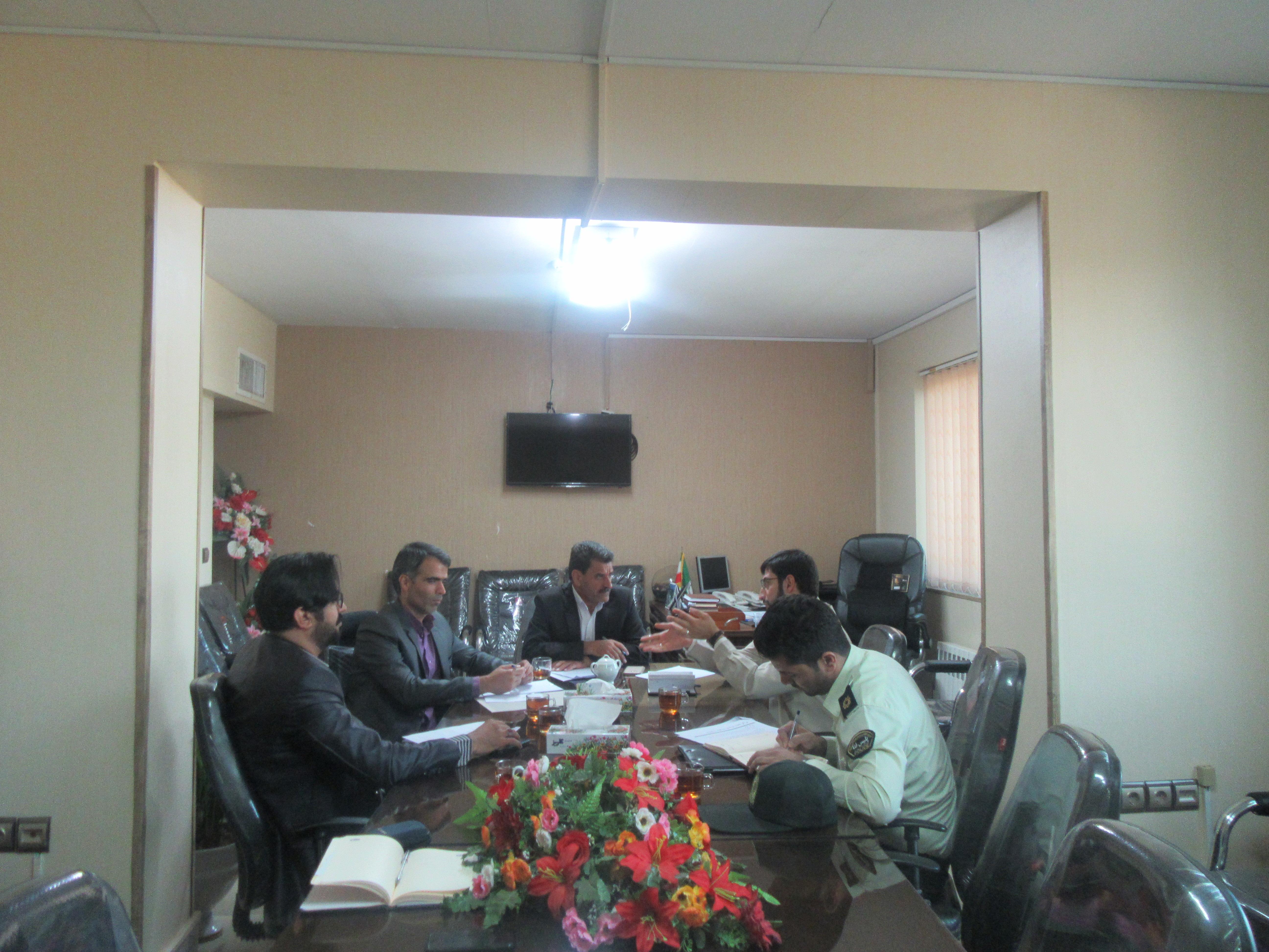 اولین جلسه کمیته سایبری شورای پدافندغیرعامل خواف برگزار شد