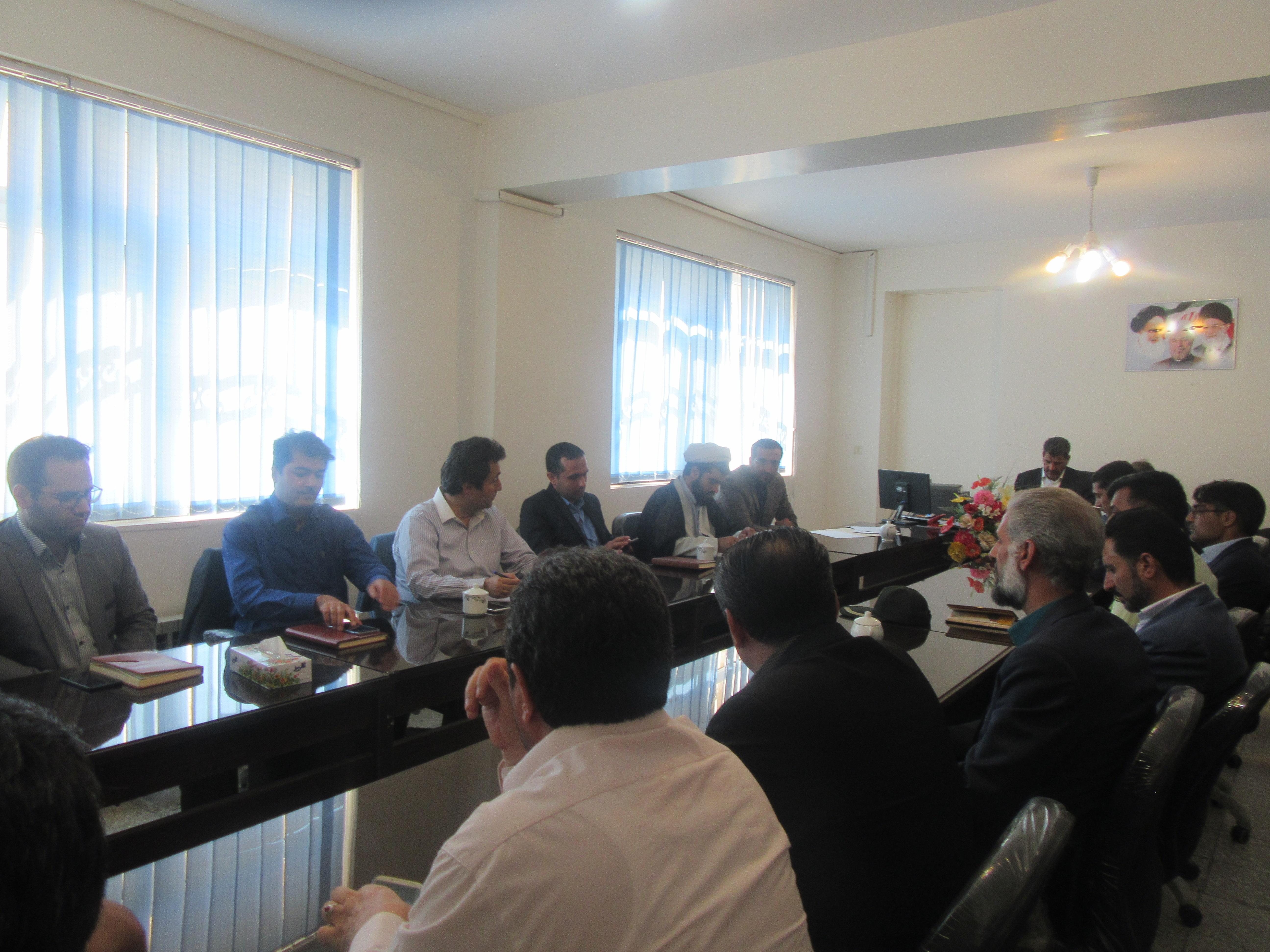 جلسه هماهنگی ستاد گرامیداشت هفته دولت در خواف برگزار شد