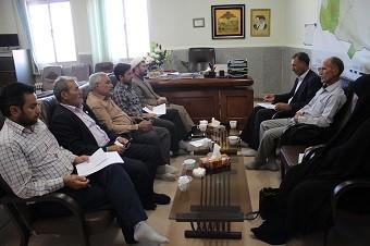 برگزاری جلسه ماهانه شورای هیئات مذهبی شهرستان خواف