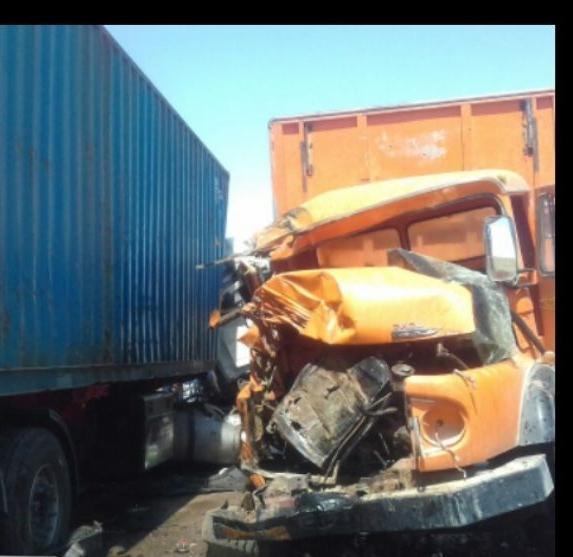 برخورد کامیون و تریلی در جاده خواف-قاین چهارمصدوم برجای گذاشت