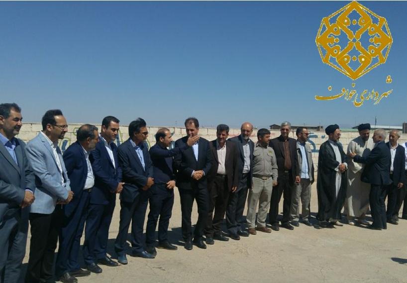 بازدید از کشتارگاه شهر خواف در روز عید سعید قربان