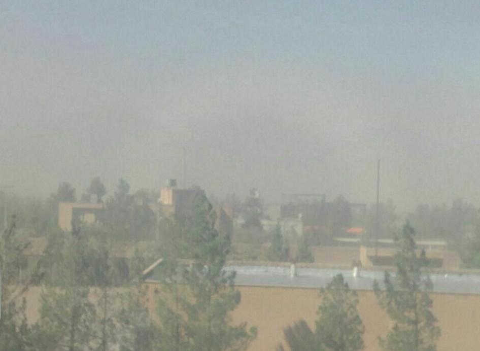 وزش شدید باد به همراه گرد و غبار همچنان میهمان خواف+گزارش ویدئویی