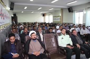 برگزاری همایش یادآوران حسینی در اداره تبلیغات اسلامی شهرستان خواف