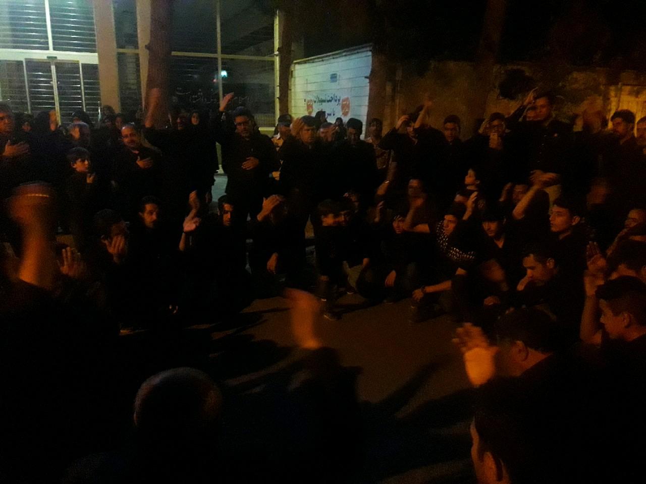 برگزاری مراسم شام غریبان اباعبدالله الحسین(ع) در شهر خواف