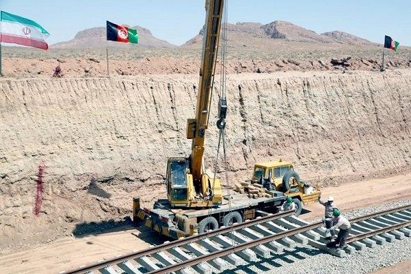 پایان زیرسازی خط آهن خواف-هرات