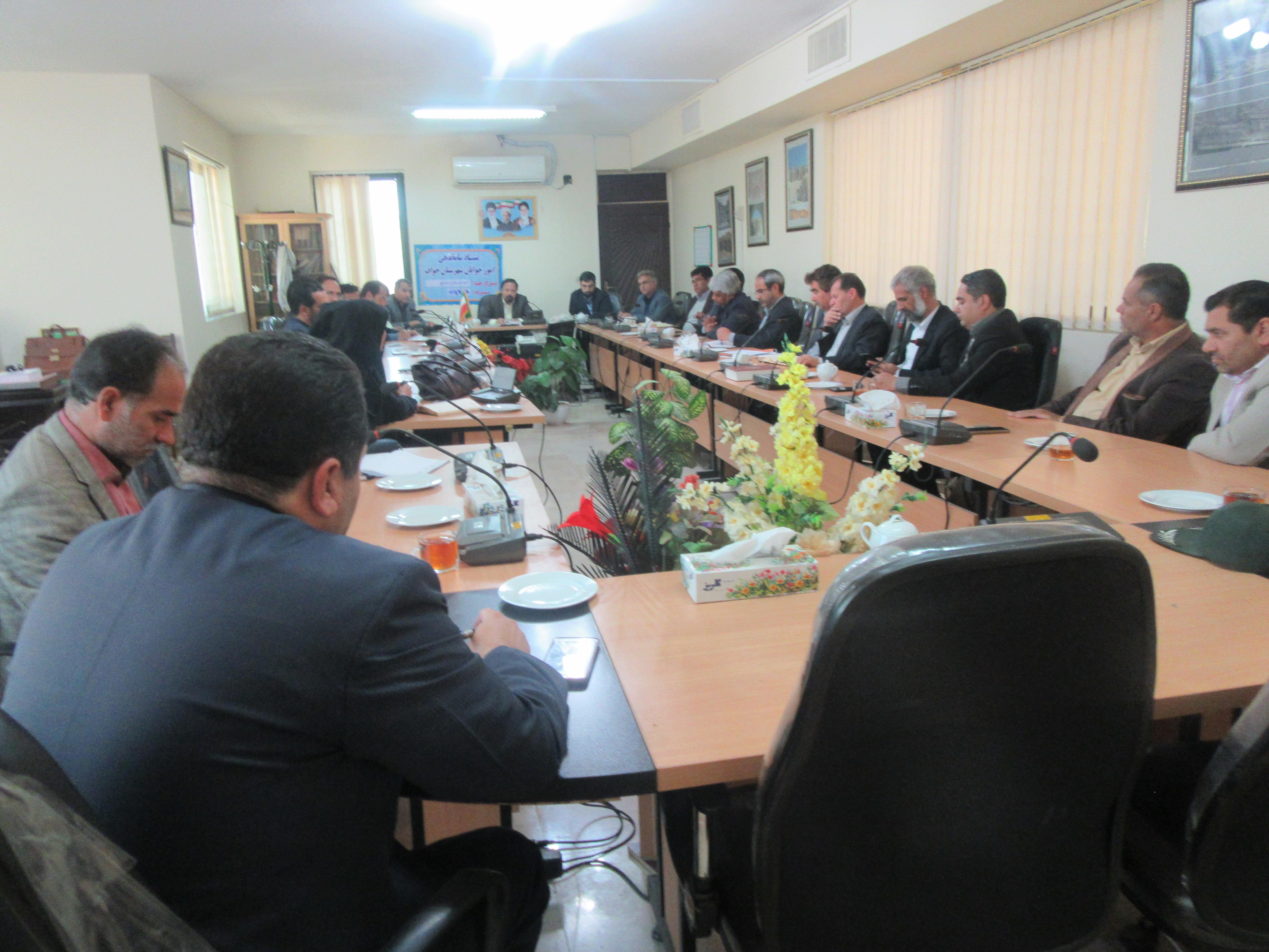 برگزاری جلسه ستاد ساماندهی امور جوانان شهرستان خواف
