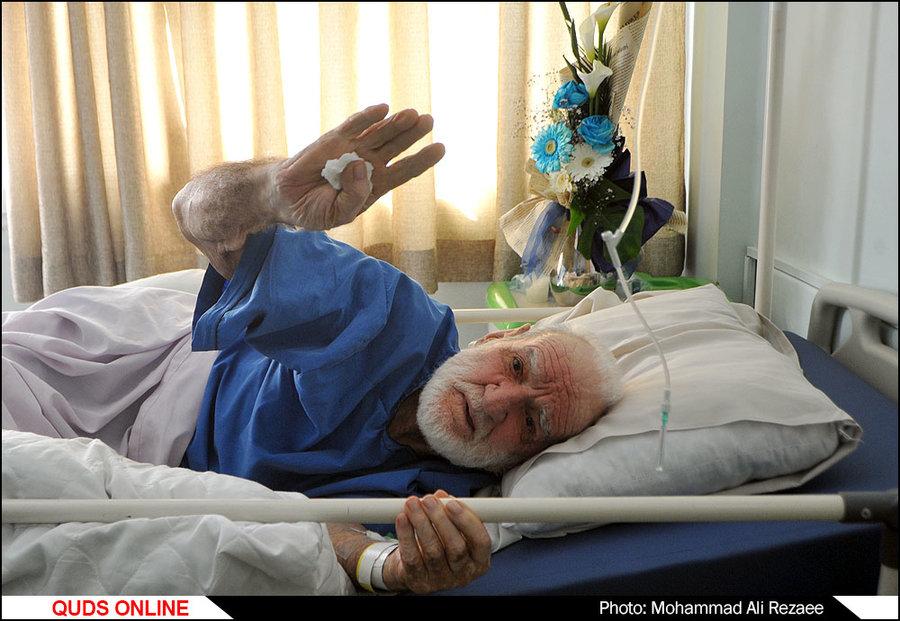 احتمال ترخیص استاد عثمان از بیمارستان/ بزرگداشت استاد عثمان محمدپرست برگزار میشود