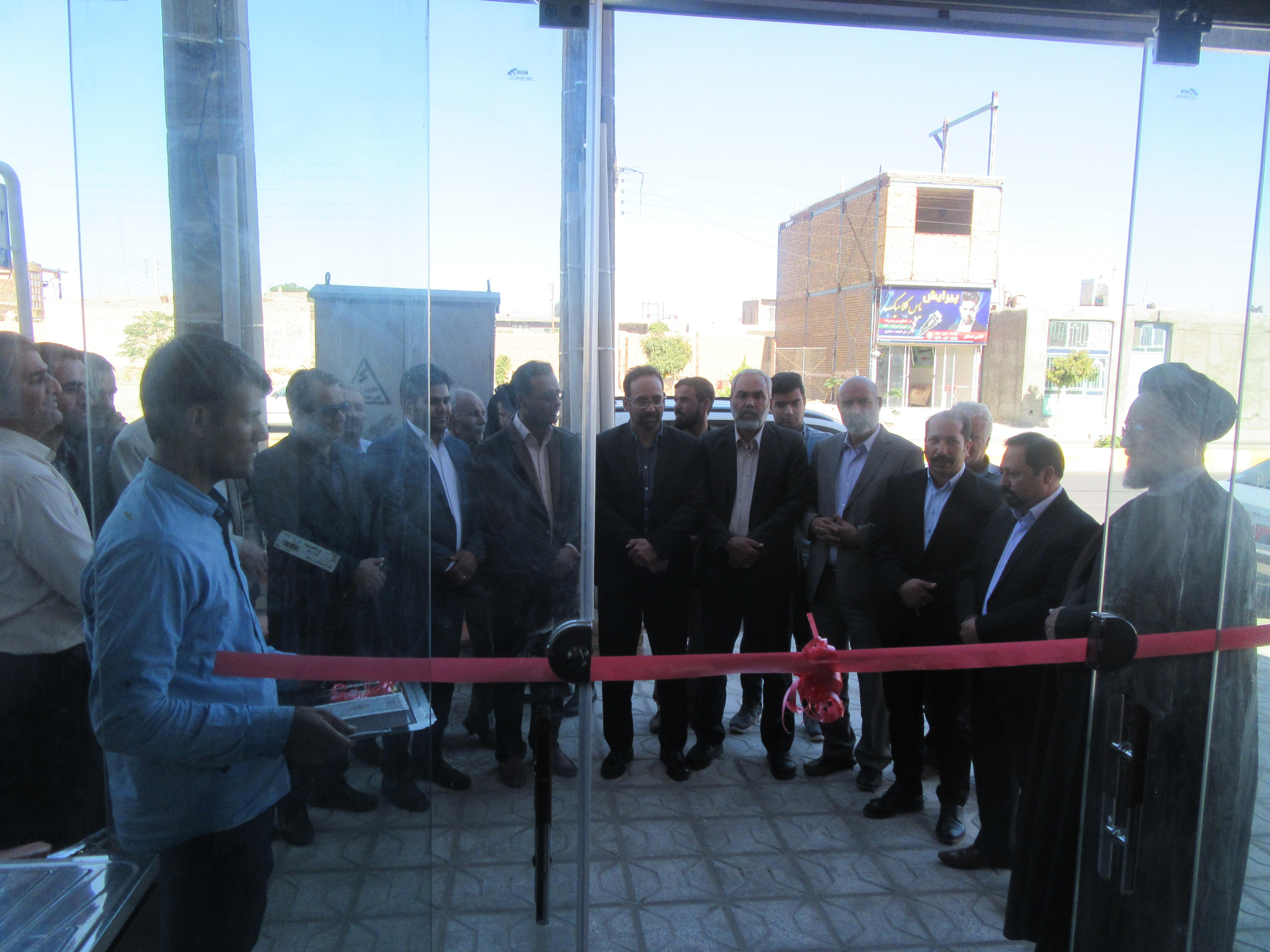 اولین بیمارستان دامپزشکی شهرستان خواف به بهره برداری رسید