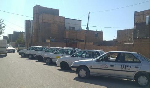 افتتاح و راه اندازی اولین تاکسی بی سیم شهر خواف