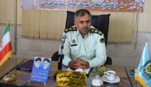 فرمانده انتظامی شهرستان خواف: دو سارق حرفه ای احشام با ۵ فقره سرقت دستگیر شدند.