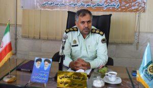 پیام تبریک فرمانده انتظامی شهرستان خواف به مناسبت هفته وحدت