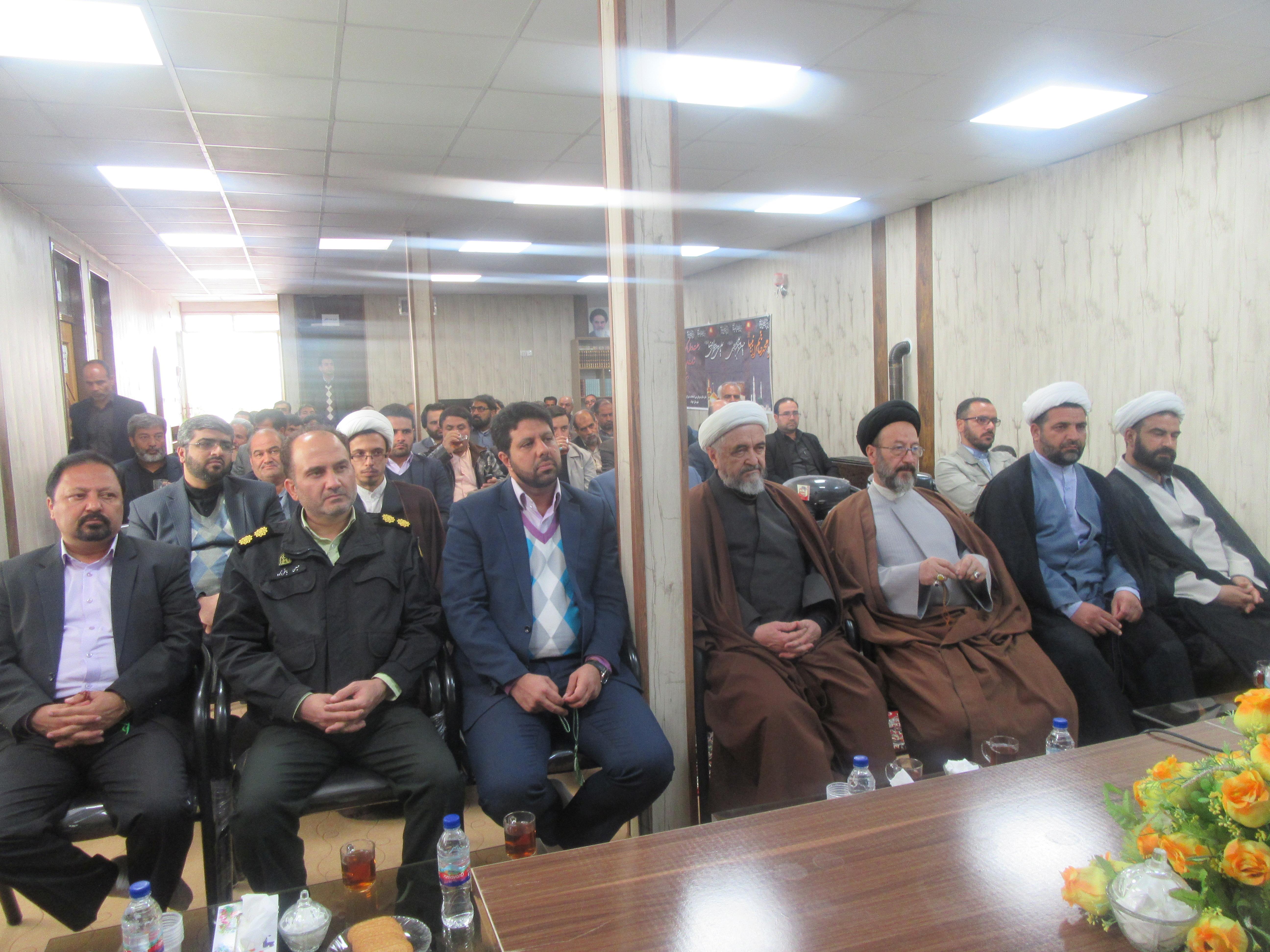 تودیع و معارفه سرپرست دفتر نظارت و بازرسی انتخابات شهرستان خواف