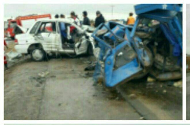 باز هم سانحه رانندگی و تلفات در جاده خواف-تربت حیدریه