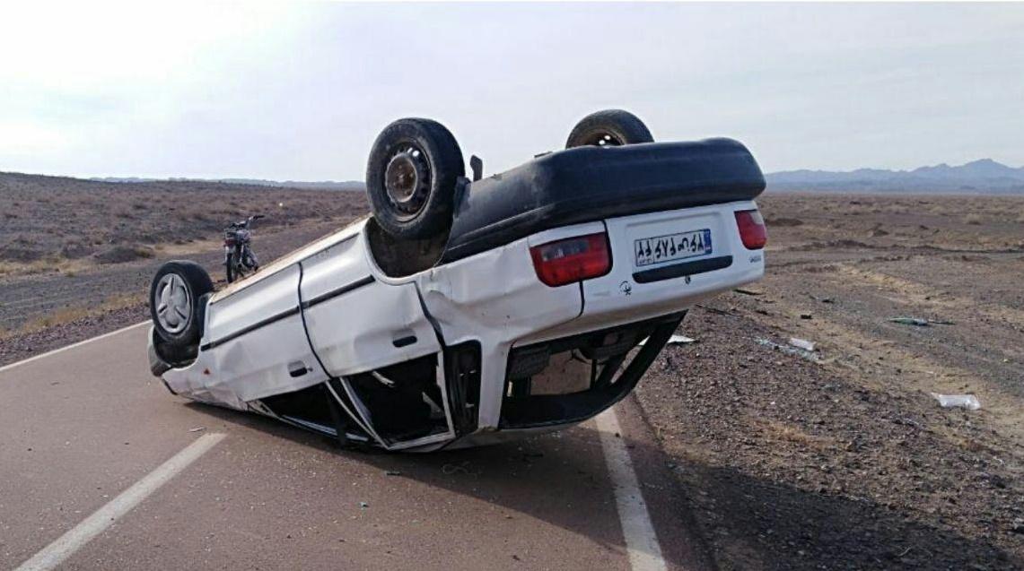واژگونی خودرو در جاده خواف چهار نفر را مصدوم کرد