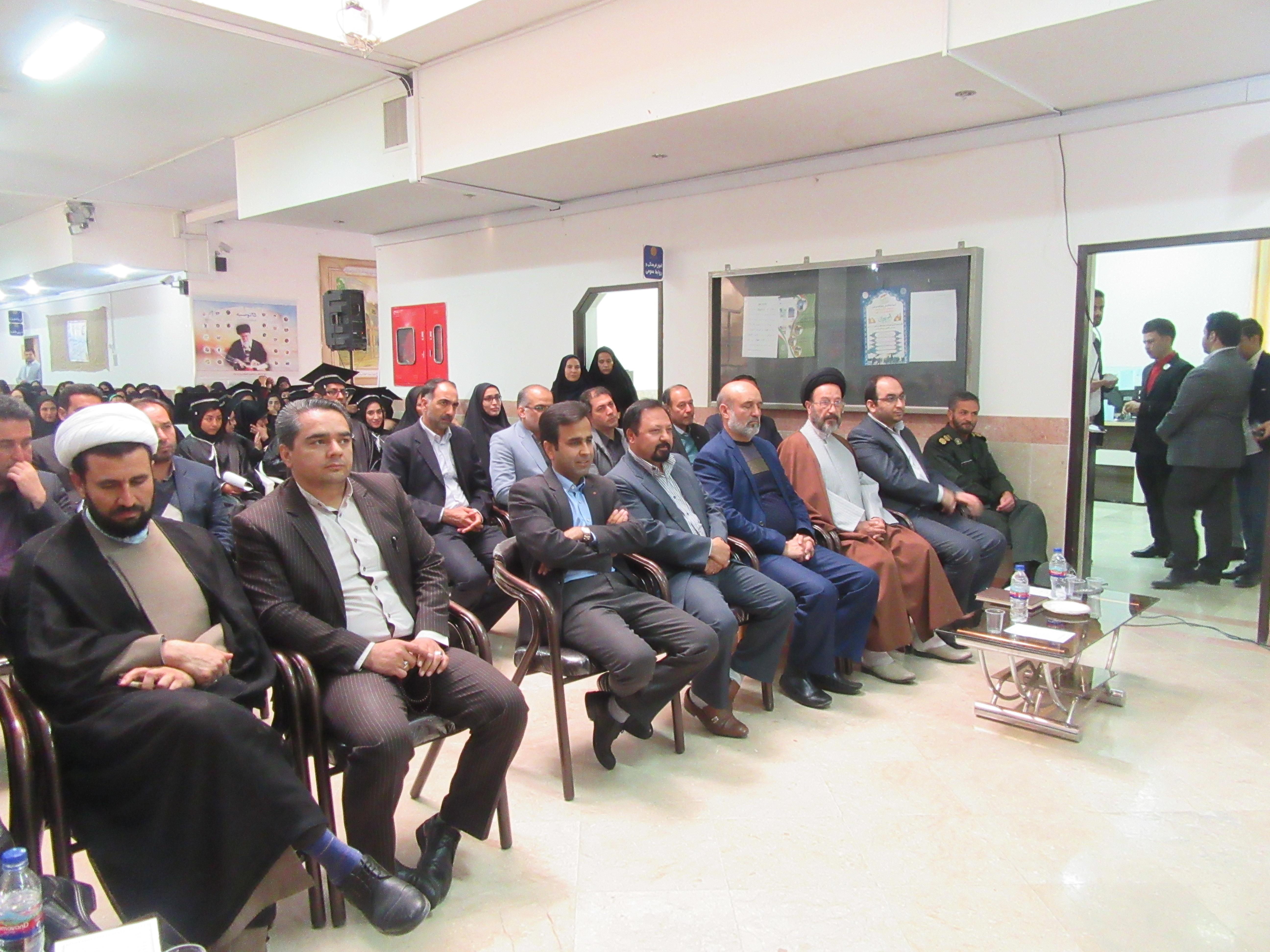 ه مناسبت روز دانشجو؛ جشن دانش آموختگی فارغ التحصیلان دانشگاه پیام نور خواف برگزار شد