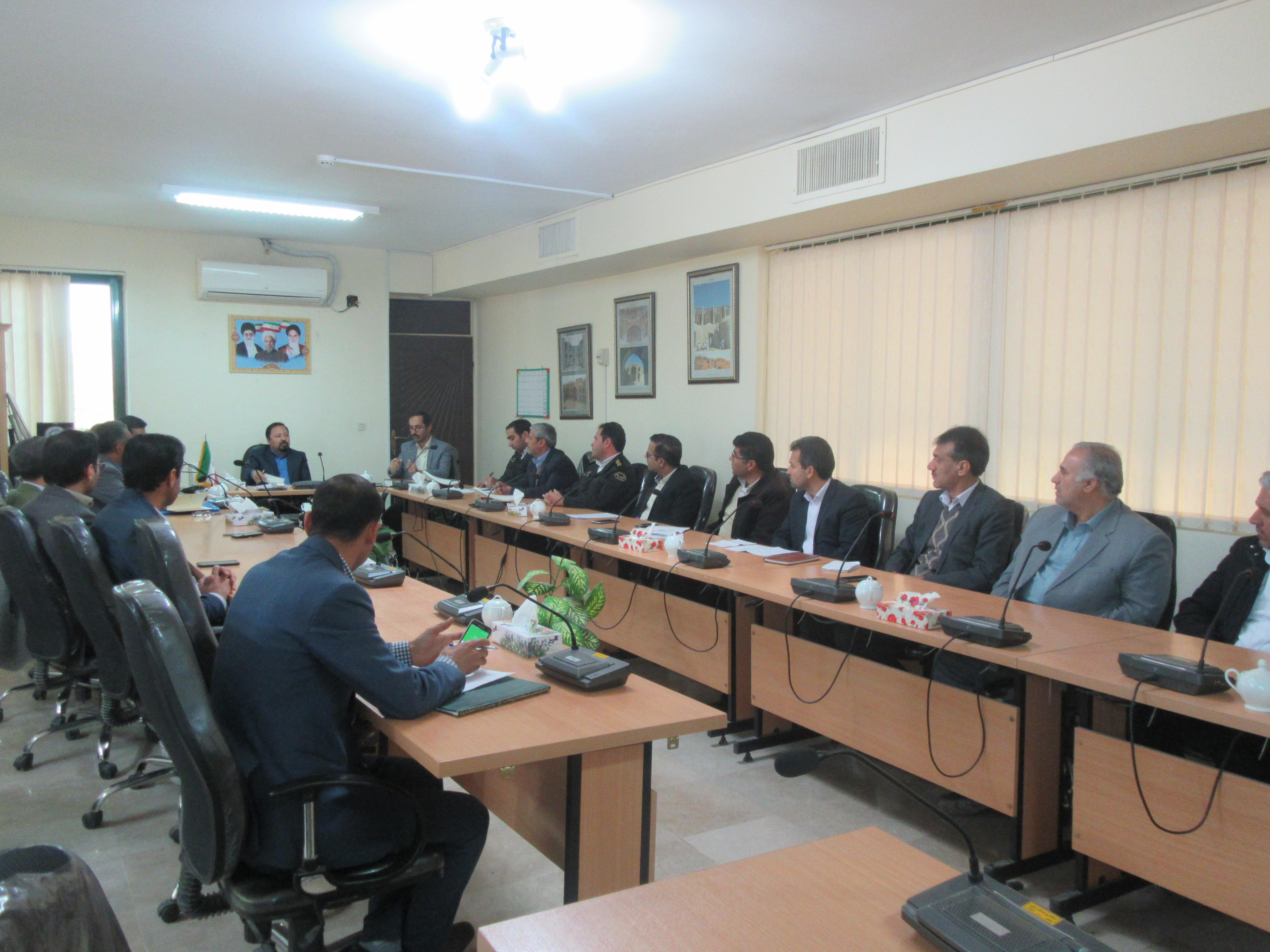 برگزاری جلسه شورای ترافیک شهرستان خواف