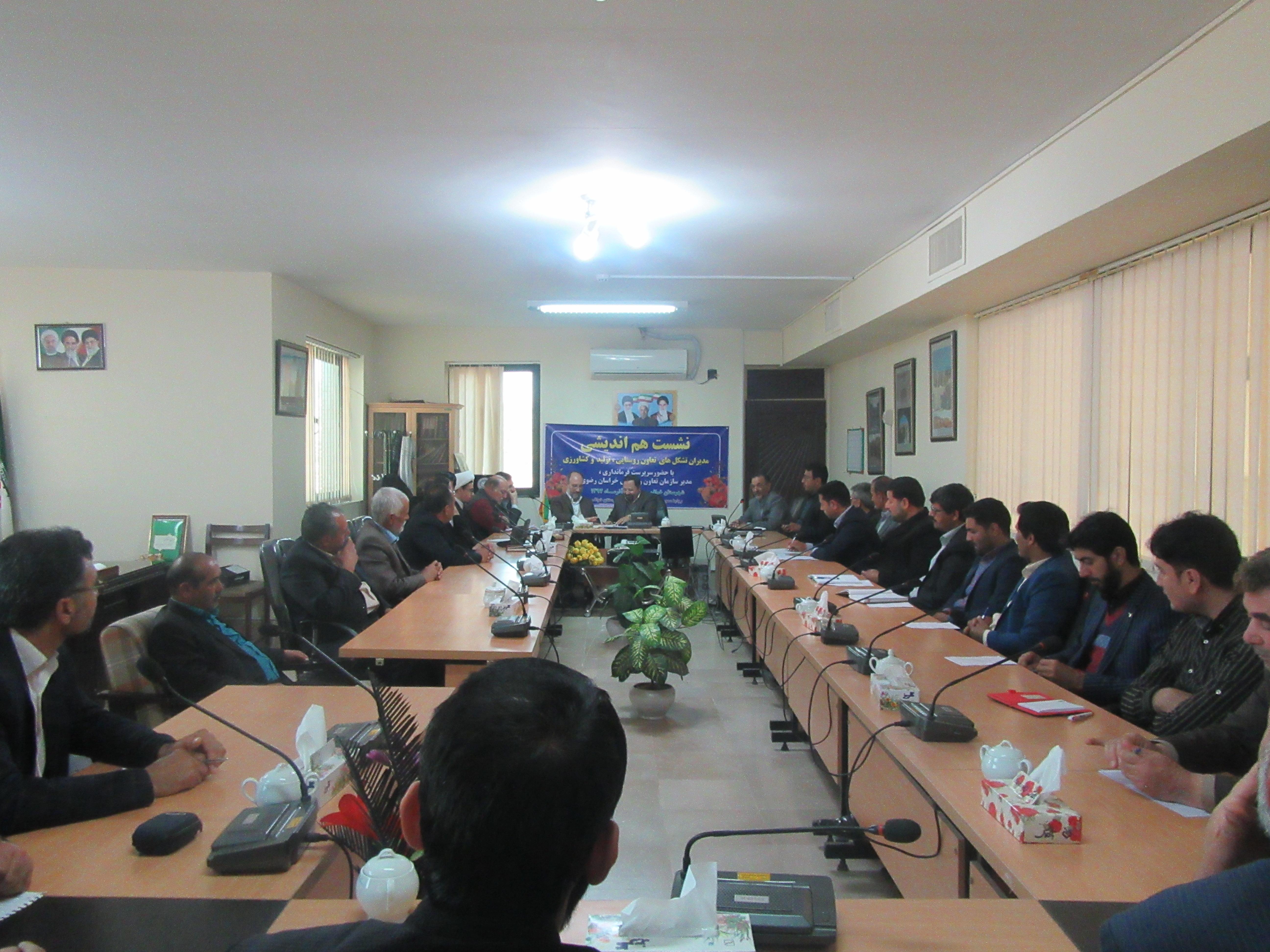 عبدالرضا سپهری : مدیران تشکلهای تعاون روستایی ، سربازان جبهه اقتصادی در بخش کشاورزی هستند