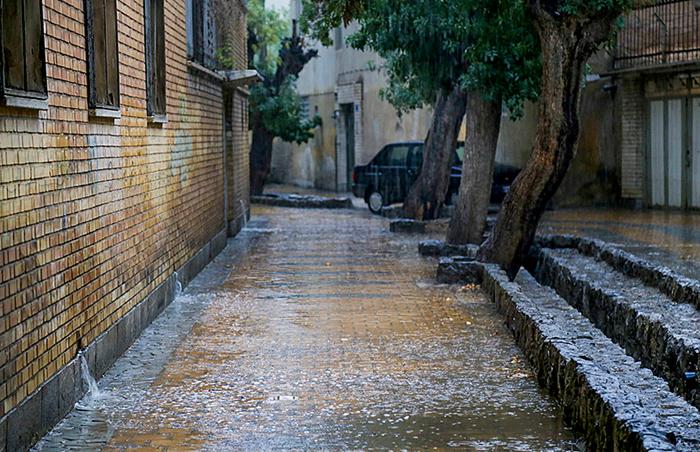 بیش از 10 میلیمتر بارندگی در 24 ساعت گذشته در خواف