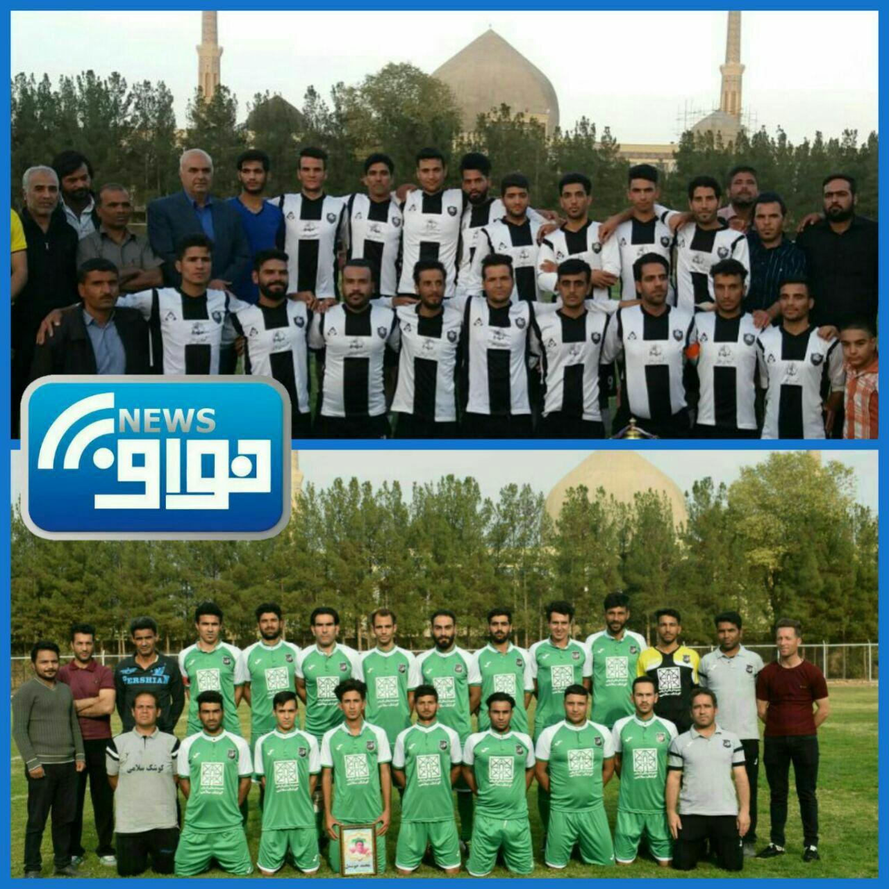 حضور تحسین برانگیز فوتبال شهر سلامی در شهرستان خواف