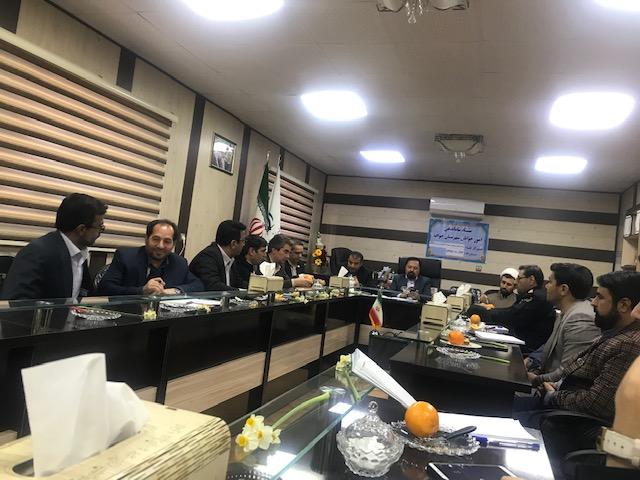 جلسه ستاد ساماندهی امور جوانان شهرستان خواف  برگزار شد