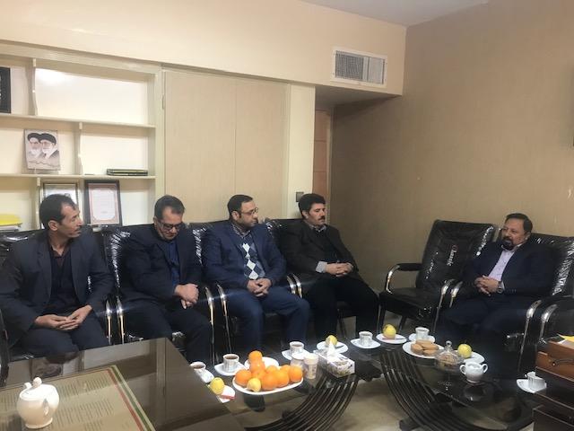 دیدار مدیر کل امور عشایر خراسان رضوی با  سرپرست فرمانداری خواف