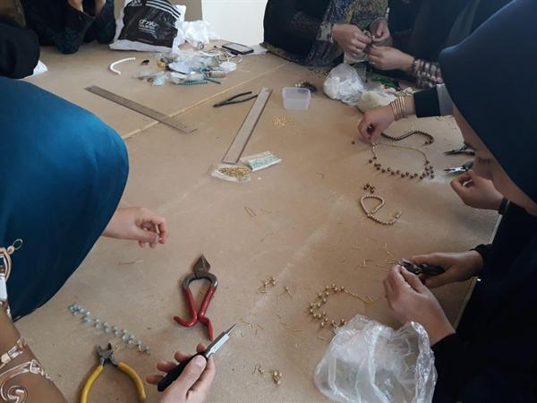 شروع کلاس های آموزش زیورآلات سنتی در شهرستان خواف