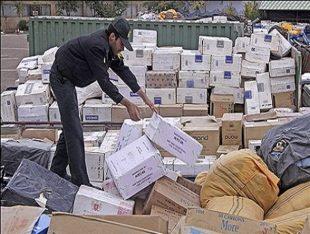 ۴۰۰ میلیون ریال کالای قاچاق در خواف کشف شد
