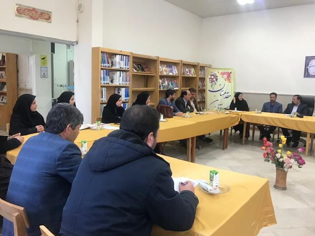 انجمن کتابخانه های عمومی شهرستان خواف برگزار شد