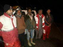 نجات چوپان گرفتار شده در ارتفاعات معدن کوه سنبل خواف