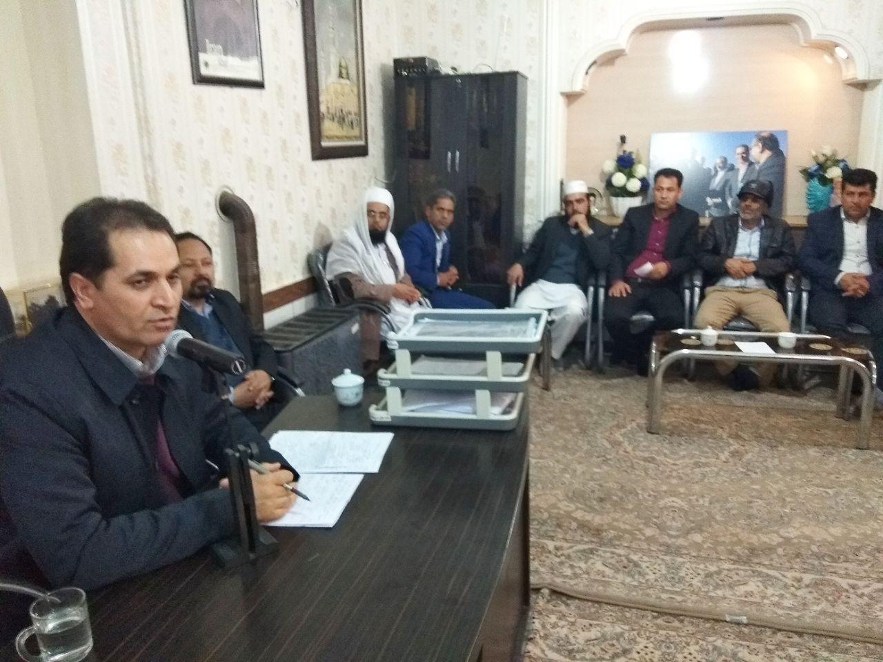 با حضور نماینده و فرماندار، مشکلات روستاهای بخش مرکزی خواف بررسی شد