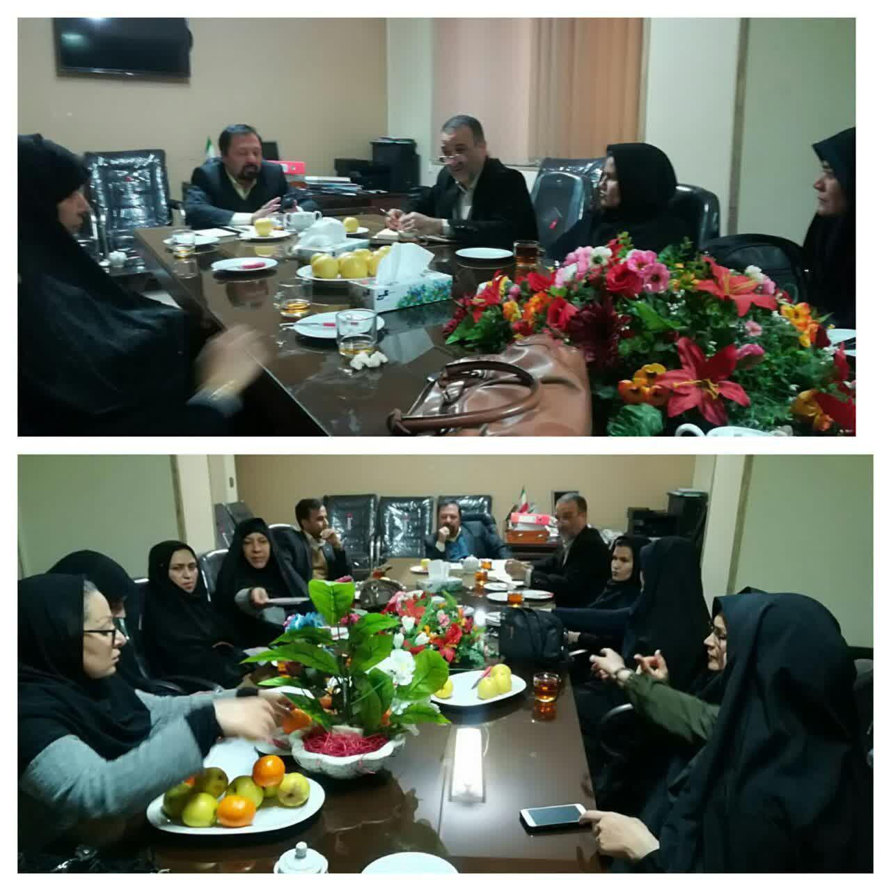 برگزاری نشست هم اندیشی بررسی مشکلات جاری و آسیب شناسی و ارائه راهکار مناسب در جهت ورود تعاونی زنان به عرصه تولید