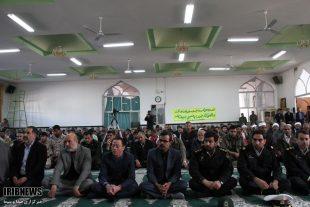 یادبود شهدای سپاه پاسداران در حادثه تروریستی زاهدان در خواف