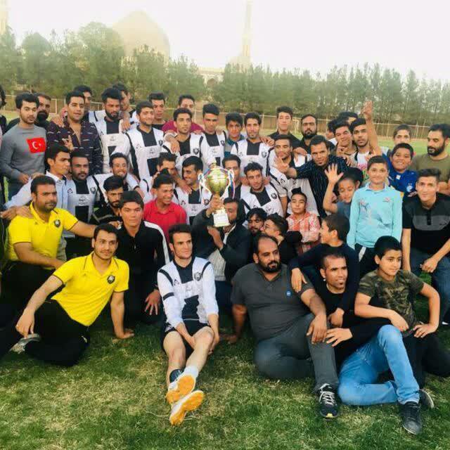 علمدار سلامی قهرمان جام حذفی فوتبال شهرستان خواف شد.