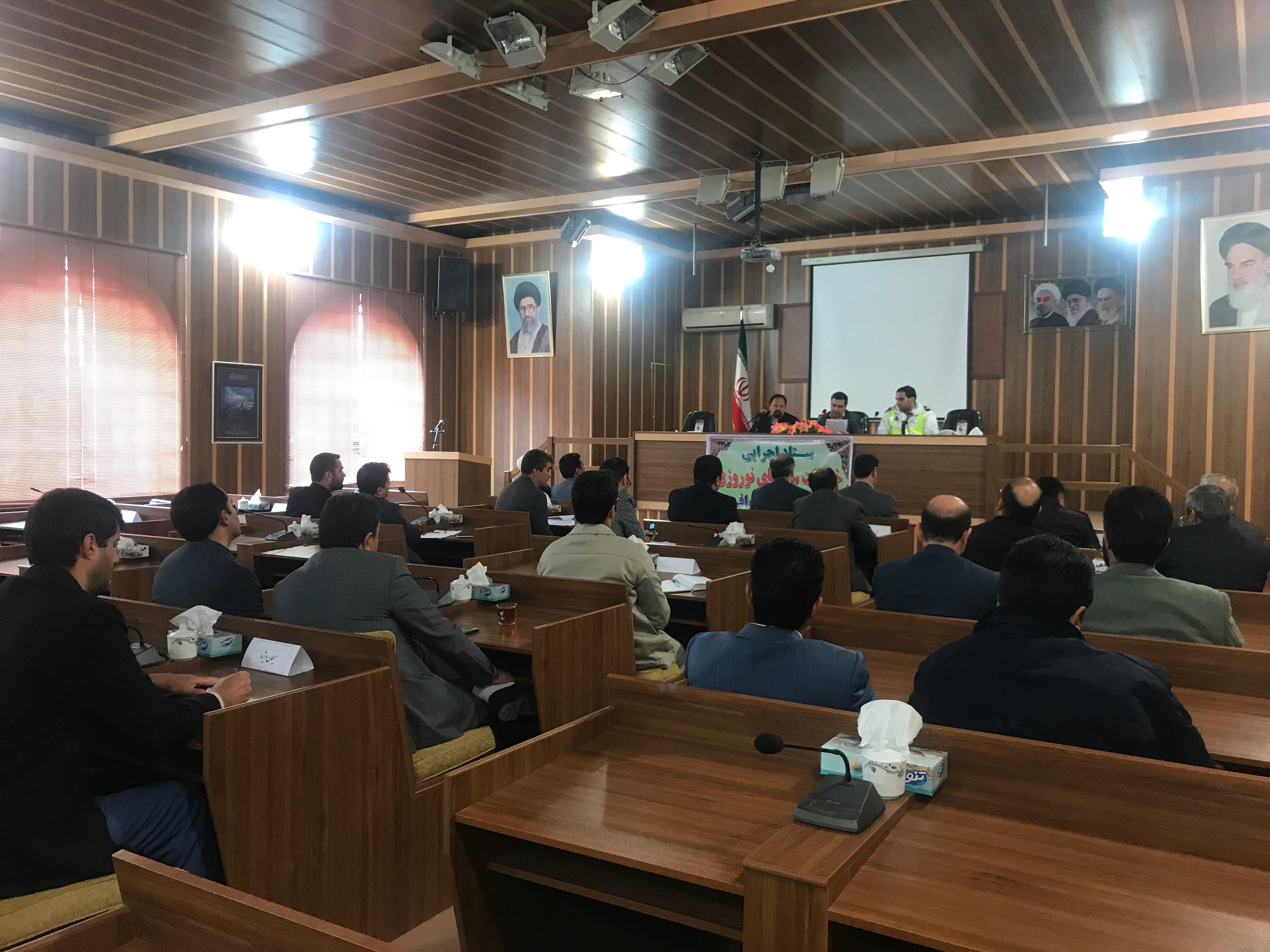 کمیته های ۱۰ گانه خدمات سفر در خواف مشخص شد