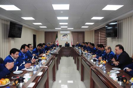 جلسه مدیران مجتمع سنگ آهن سنگان برگزار گردید