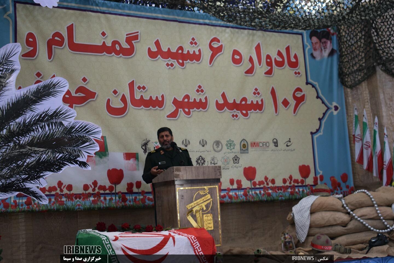 برگزاری یادواره ۶شهید گمنام و ۱۰۶شهید در شهرستان خواف