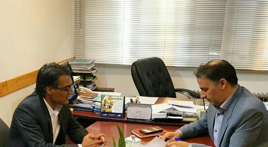 امضای تفاهم نامه معاونت سرمایه گذاری میراث فرهنگی،صنایع دستی و گردشگری و شهردار خواف
