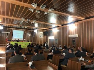 آخرین جلسه شورای اداری شهرستان خواف در سال ۹۷ برگزار شد