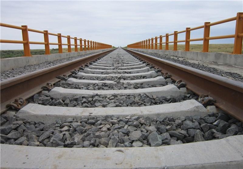 تکمیل راه آهن خواف_ هرات در مرز ایران