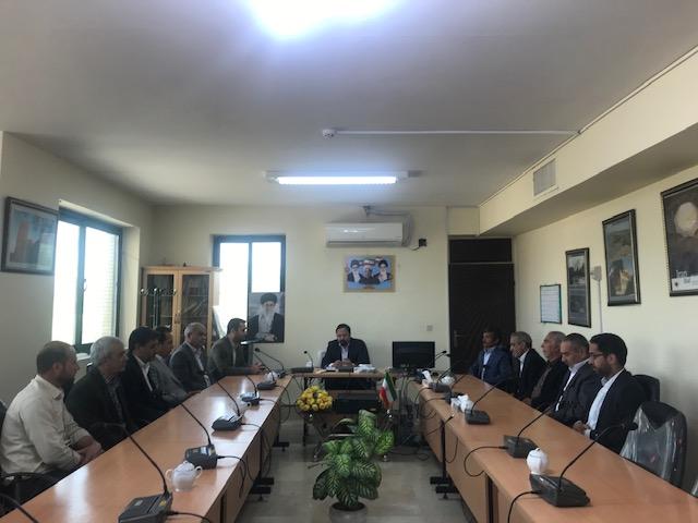دیدار نوروزی روحانیون ، اصناف و بازاریان شهرستان خواف با فرماندار