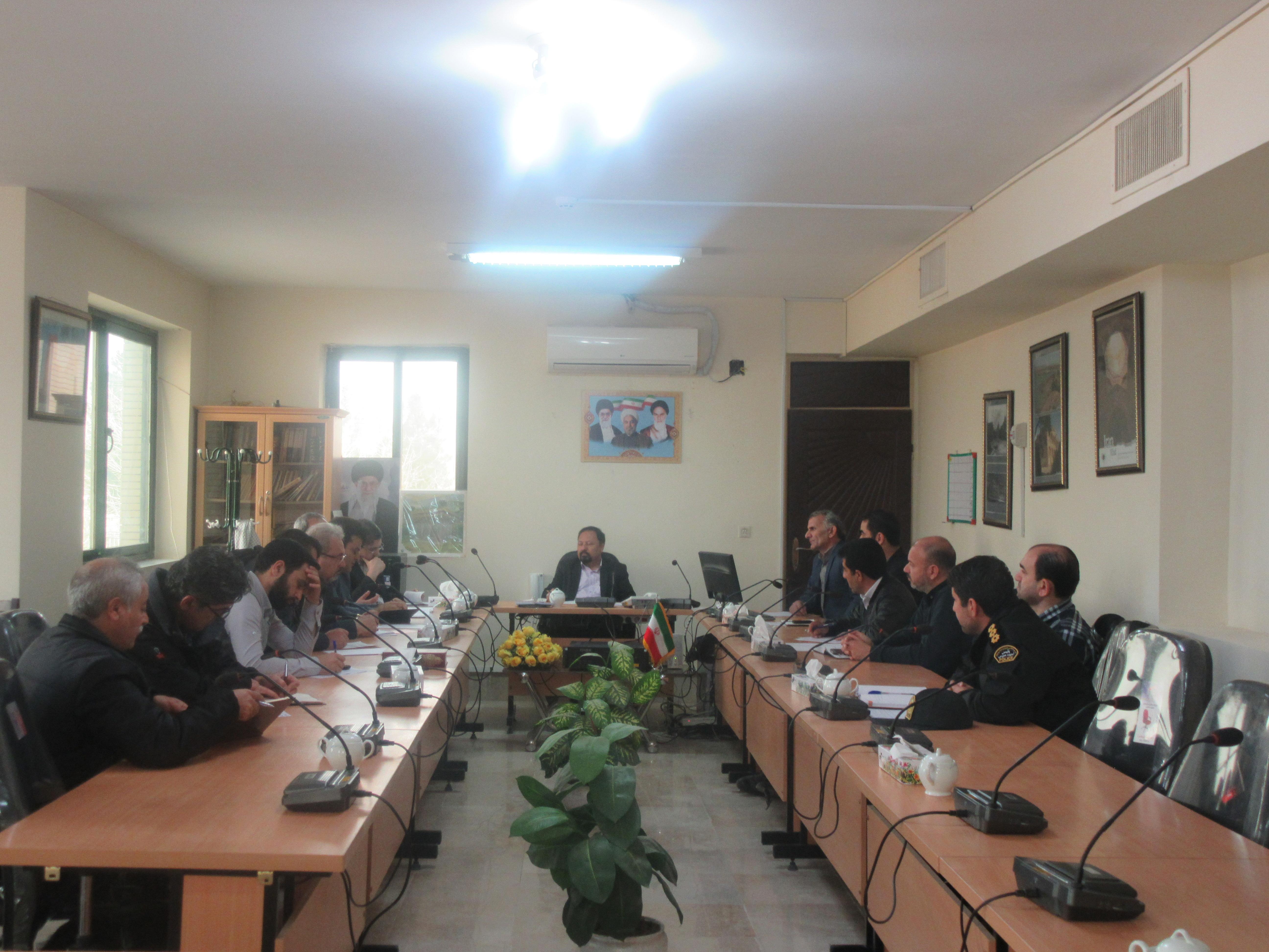 جلسه کمیسیون کار و کارگری شهرستان خواف برگزار شد