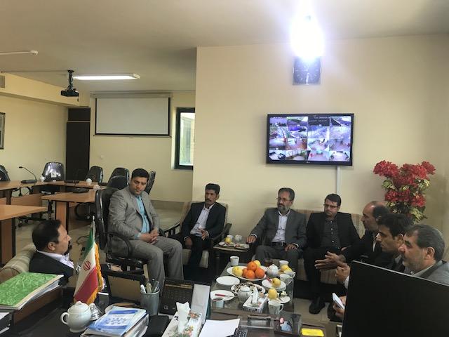 دیدار نوروزی اعضای شورای اسلامی شهرستان خواف با فرماندار