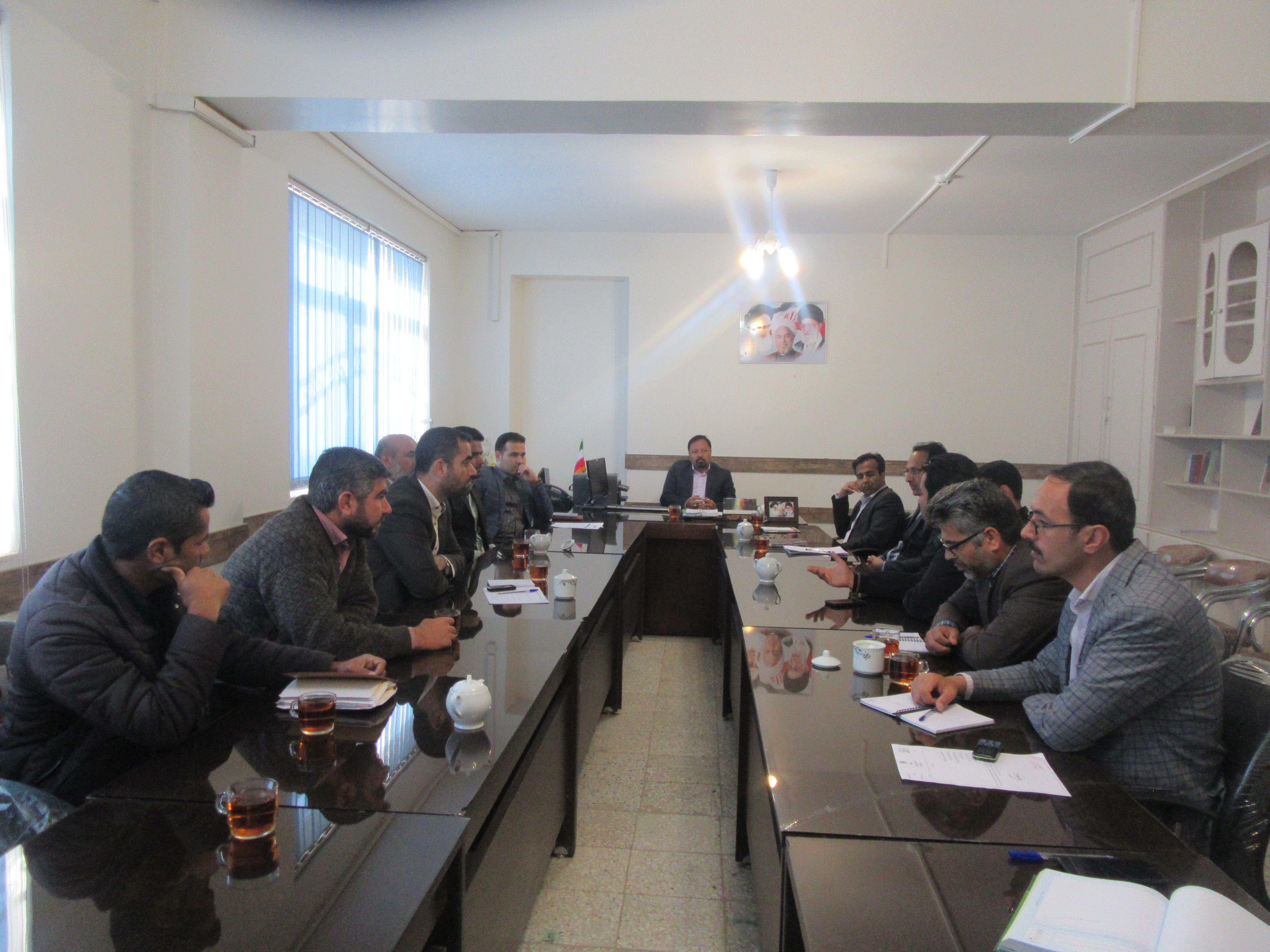 ششمین جلسه ستاد هماهنگی مثلت توسعه اقتصادی شهرستان خواف برگزار شد