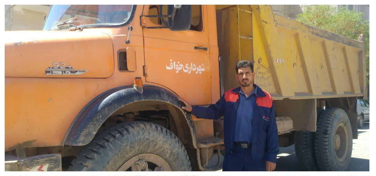 کمک شهرداری خواف به سیل زدگان منطقه گلستان