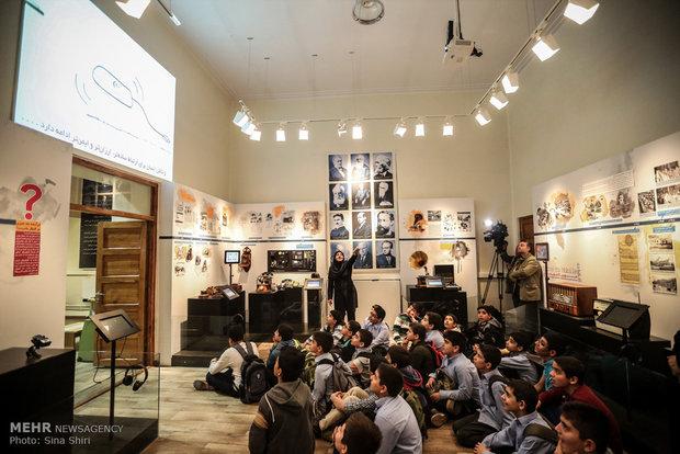آسیاب های بادی منحصر به فرد خواف در موزه علوم و فناوری جمهوری اسلامی ایران