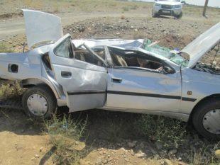 برخورد ۲ خودرو در محور خواف- رشتخوار با ۶مجروح