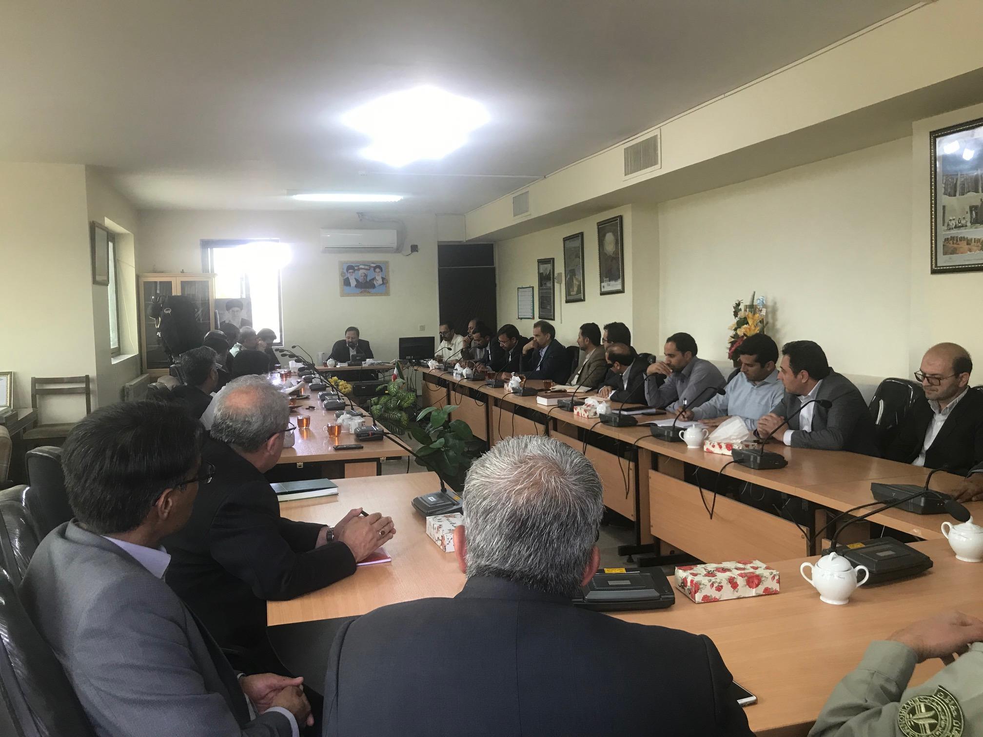 دومین جلسه اضطراری مدیریت بحران شهرستان به ریاست سرپرست فرمانداری خواف برگزار شد