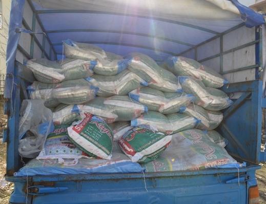 ارسال نخستین محموله کمک های مردم خواف برای سیل زدگان