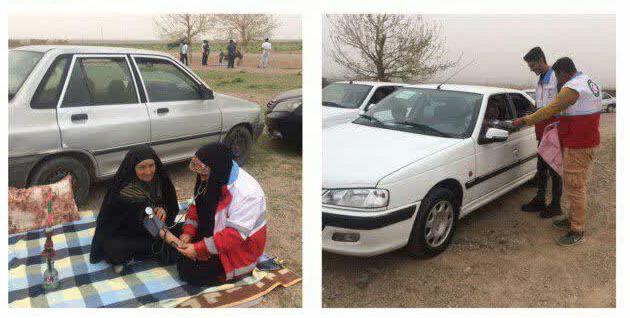   اعزام دو تیم طرح سحاب جمعیت هلال احمرخواف به مراکز تفریحی و تفرجگاه های شهرستان در روزطبیعت