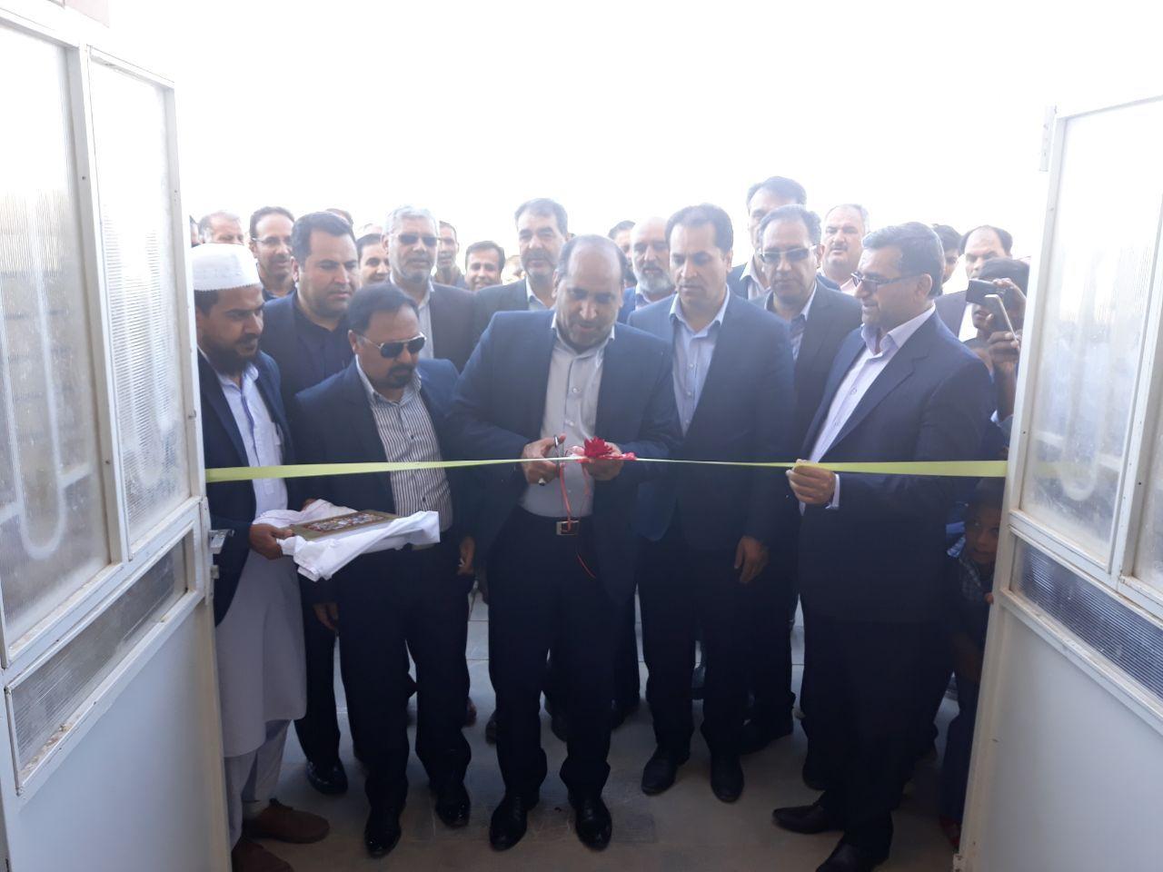 """آموزشگاه ۶ کلاسه """" حاج احمد سلحشور"""" در شهرستان خواف افتتاح شد."""